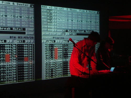 Digital Performance at A MAZE Festival in Berlin, February 2010